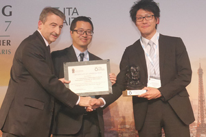 """<div class=""""bildtext_en""""><irspacing style=""""letter-spacing: -0.01em;"""">A further ITA Award was bestowed on an innovative solution for building an expressway tunnel bifurcation beneath a residential area in Yokohama (Japan)</irspacing></div>"""