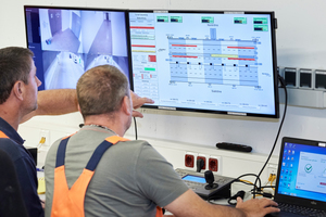 """<div class=""""bildtext_en"""">In the operations building of the Katzenberg Tunnel, the system is only monitored during the construction phase or directly in case of an incident. In normal operation. the complete control system is supervised from the traffic and operations centre for North Bavaria in Fischbach</div> <div class=""""bildtext_en""""></div>"""