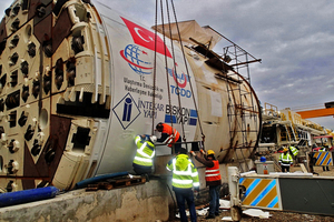 """<div class=""""bildtext_en"""">Onsite First Time Assembly of the Single Shield TBM</div>"""