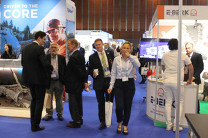 """<div class=""""bildtext_en""""><strong>3</strong>130 companies displayed their products and services at the accompanying trade exhibition</div>"""
