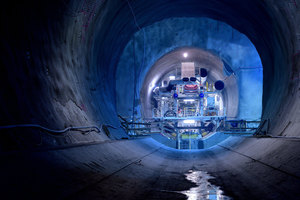 """<div class=""""bildtext_en"""">In mid-July 2018 the first of two TBMs has begun work on the """"Fröschnitzgraben"""" section of the Semmering Base Tunnel</div>"""