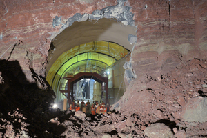 Second breakthrough in the Obertürkheim Tunnel