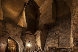 Interaction between Archaeology, Architecture and Art: the Tunnel Borbonico is an ancient underground passage in Naples