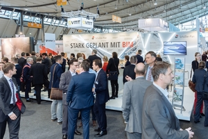 "<div class=""bildtext"">Full booths and many expert discussions – the STUVA Expo is an equally strong magnet for exhibitors and trade visitors</div>"