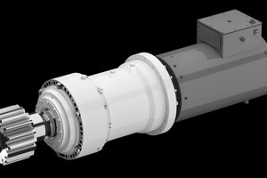 """<div class=""""bildtext"""">2Main drive (6 to 20 of these gears are required for the TBM shield drive)</div>"""
