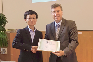 The last ITA COSUF Award 2018 for outstanding contribution to the safety of underground facilities was awarded to Lei Jiang (on the left) for his work on Dynamics of Densimetric Plumes and Fire Plumes in Ventilated Tunnels