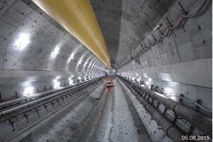 Eurasia Tunnel in carcass state <br />