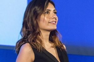 """<div class=""""bildunterschrift_en""""><span class=""""zahl_bildunterschrift"""">6</span>Serena Rossi, an Italian actor born in Naples, presented the opening ceremony and provided some songs</div>"""