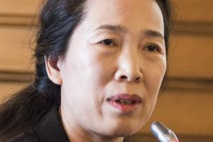 """<div class=""""bildunterschrift_en""""><span class=""""zahl_bildunterschrift"""">15</span>Jinxiu (Jenny) Yan was chosen as ITA president for three years by a narrow margin of 32 to 30 votes</div>"""