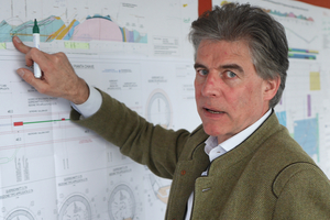 Prof. Konrad Bergmeister, former Austrian CEO of the Brenner Base Tunnel for about 13 years <br />