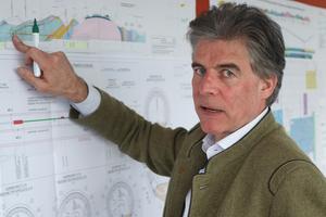 Prof. Konrad Bergmeister ist 13 Jahre lang österreichischer CEO des Brenner Basistunnels gewesen <br />