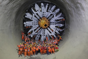"<div class=""bildunterschrift_en"">Albvorland Tunnel: the mechanised drive in the north tube concluded in early August 2019</div>"