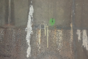 Direct injections into the concrete segments to stop the water ingress