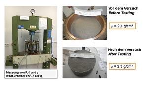 """<div class=""""bildunterschrift_en""""><span class=""""zahl_bildunterschrift"""">11</span> Oedometer Tests for Testing the deformability of the anular gap grout</div>"""