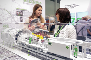 """The Herrenknecht AG is one of the numerous exhibitors at the InnoTrans in the segment """"Tunnel Construction"""""""