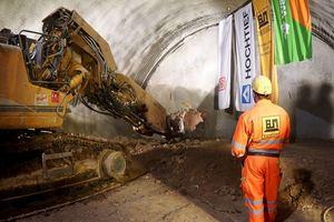 Ende November 2019 wurde der S-Bahn-Tunnel Rosenstein erfolgreich durchgeschlagen
