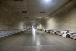 Aestuverfire protection boards protect the structural concrete on the major road tunnel project Tuen Mun – Chek Lap Kok Link in Hong Kong. The approx. 5 km long subsea tunnel connects the airport (Chek Lap Kok) with the city quarter Tuen Mun