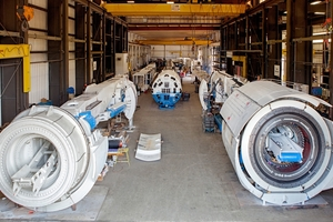 Rebuilt TBMs offer a number of advantages, including faster delivery times, lower costs, and proven equipment success