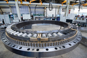 Liebherr main bearings are specially designed for high continuous loads and reliable, fail-safe drilling