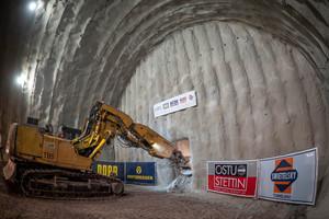 Mit dem Durchschlag der Oströhre des Fildertunnels Anfang Mai 2020 sind nun alle Tunnelröhren zum künftigen Stuttgarter Hauptbahnhof aufgefahren <br />