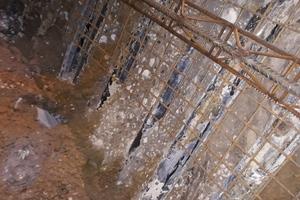 Horizontal-DSV-Säulen entlang der Ausbruchslaibung