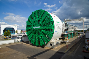 Europe's largest TBM measures 15.87 m in diameter and bored a large road tunnel for the expansion of the Italian Autostrade A1 <br />