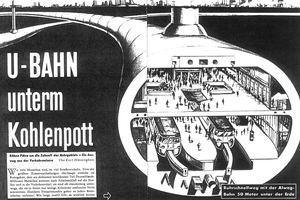 Tunnel over Tunnel – the clever plan from 1959, which led to the founding of the STUVA