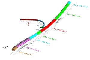 "<span class=""zahl_bildunterschrift"">3</span>Design model of the outer lining at the Bertoldshofen Tunnel"