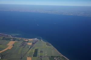 From 2029, an 18 km long tunnel is planned to cross under the Fehmarn Belt <br />
