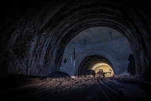 Brenner Base Tunnel, construction lot H51 Pfons–Brenner: Launch chamber in the main tunnel