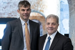 The two CEOs of BBT SE: Martin Gradnitzer (on the left) and Gilberto Cardola <br />