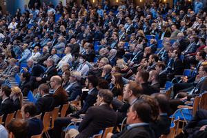Characteristic of the STUVA Conference: A knowledgeable and attentive large audience
