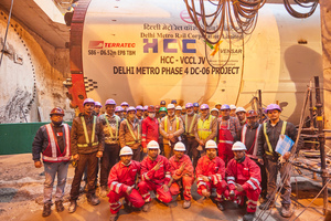 """<irspacing style=""""letter-spacing: -0.01em;"""">A Terratec EPM started excavation on Delhi Metro Phase 4, contract DC-06. Hindustan Construction Company Ltd. of India and Vensar Constructions Company Ltd. were commissioned with the construction</irspacing>"""