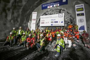 Im Juli 2020 hatte auf der österreichischen Nordseite des Brenner Basistunnels eine Herrenknecht-Gripper-TBM einen 16,63 km langen Abschnitt des Erkundungsstollens fertiggestellt