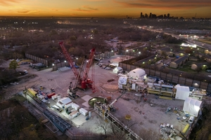 The Mill Creek Drainage Relief Tunnel in Dallas, Texas, USA is an important project, as the tunnel will provide 100-year flood protection for east and southeast areas of the city – locations affected in recent years by severe storms