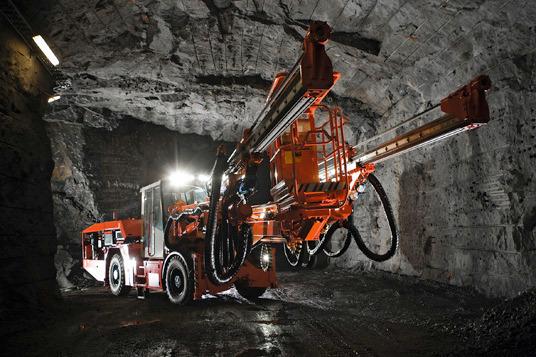 New DTi Jumbo Series from Sandvik - tunnel