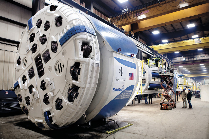 Mechanized Mining: Are TBMs the Way into the Future? - tunnel
