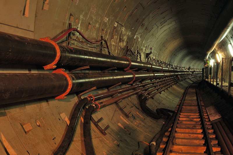 Grooved mechanical Piping Systems in Tunnels - tunnel