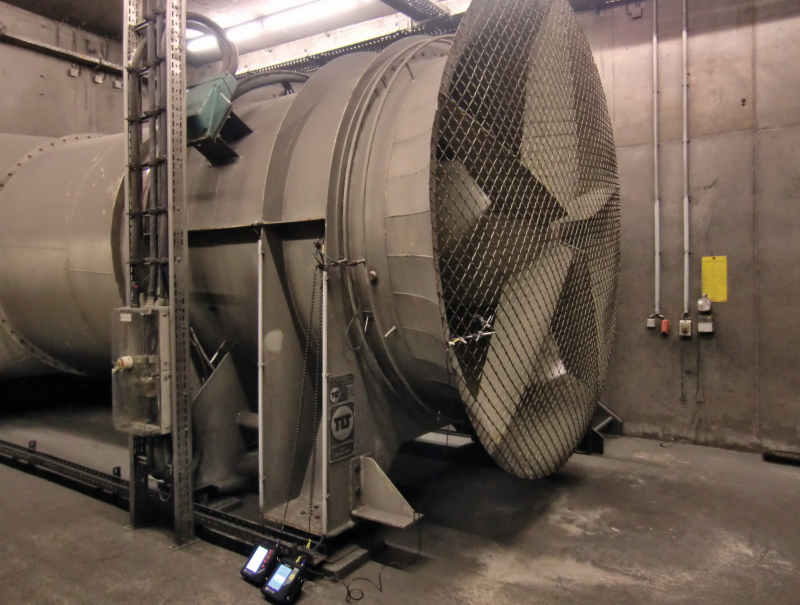 Tunnel Ventilation Fans : Restoring safety of the ventilation systems in