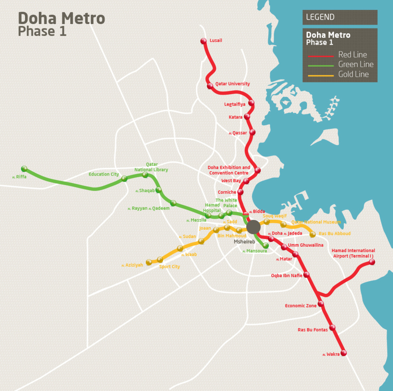 Doha Metro Project 111 Km Of New Metro Tunnels Built In 26 Months