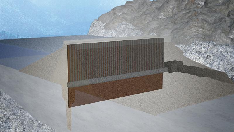Sylvenstein Reservoir: Waterproofing of the Seepage Water Tunnel