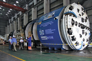 Three 5.23 m diameter Main Beam TBMs are excavating up to 721 m per month in Malaysia