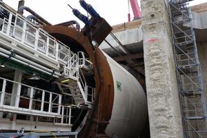 """<div class=""""bildtext_en"""">Flying shield start-up to commence excavating the Rastatt Tunnel's east tube</div>"""