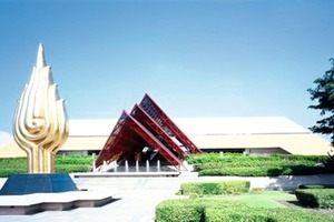The congress venue Queen Sirikit National Convention Center