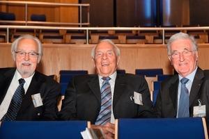 Prof. Dr.-Ing. Dr.h.c. Ernst-Ulrich Hiersche, Dr.-Ing. Eduard Hamm, Ass. Wilhelm Brand (v.li. nach re.)<br />