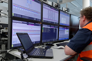 """<div class=""""bildtext_en"""">All the data points of the control system were tested prior to commission, first in the factory (100 percent), later again a certain percentage on site as a check 