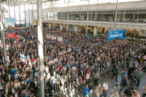 """<div class=""""bildtext_en"""">The doors of the bauma 2016 open for trade visitors on April 11. In 2013, the fair attracted in excess of 535 000 visitors to Munich 
