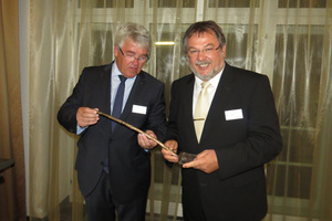 "<div class=""bildtext_en"">CBTR vice-president Josef Grauvogl handed over the foundation engineering law prize 2015 at the end of June to the STUVA board chairman, Univ.-Prof. Martin Ziegler</div>"