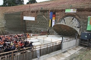 Ceremonious breakthrough of the 1st TBM for the Finne Tunnel<br />