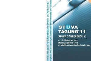 Programme brochure for the STUVA Conference '11